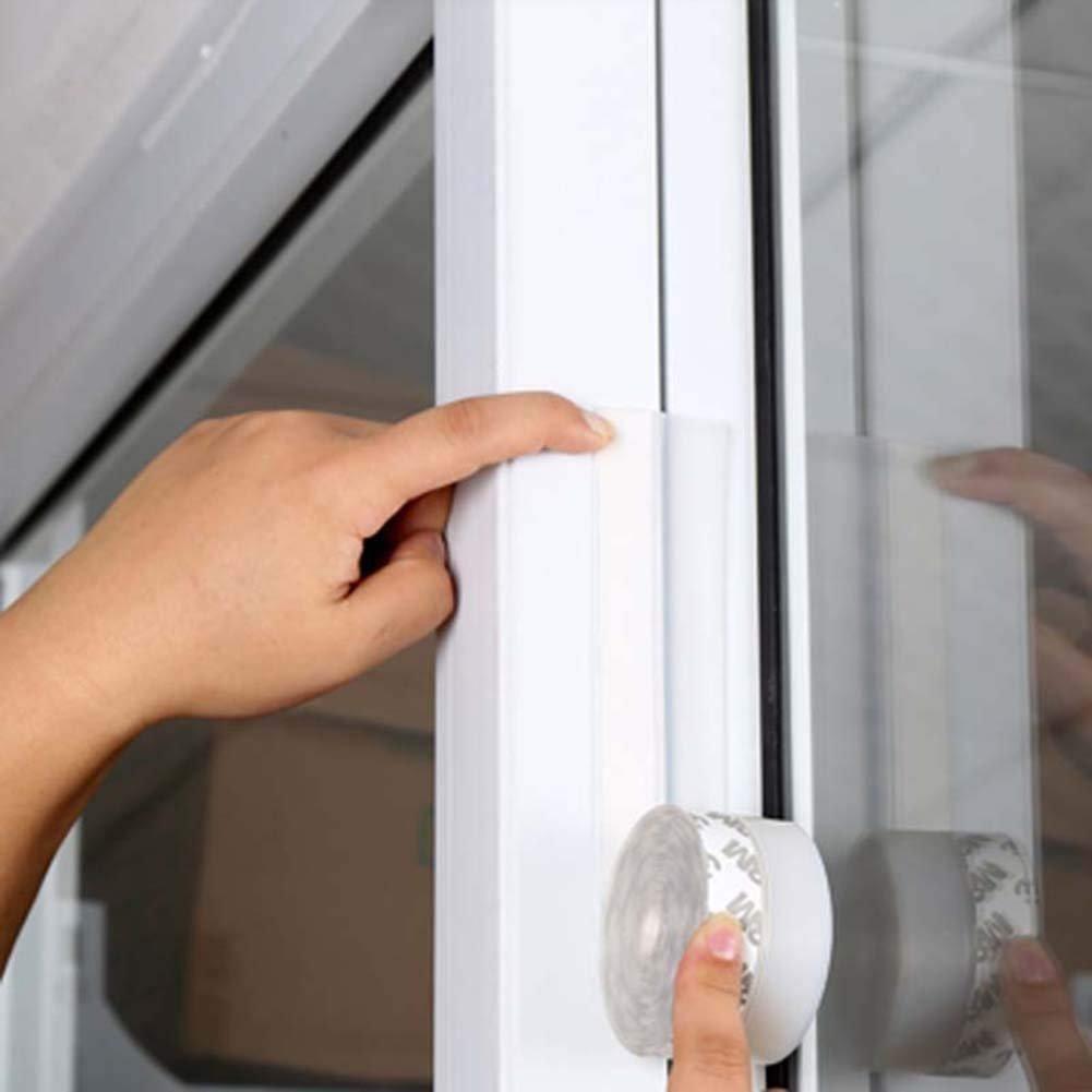 Porte coulissante météo dénuder auto-adhésif Bas de porte en silicone météo Joint inférieur de décapage: Amazon.es: Bricolaje y herramientas