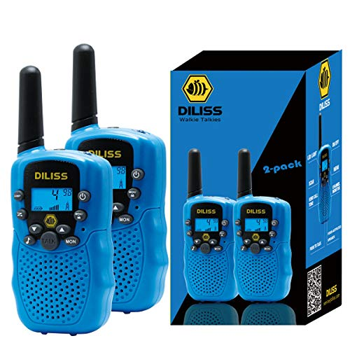 Walkie Talkies for Kids, 22 Channels FRS/GMRS Uhf Two Way Radios 4 Mile...
