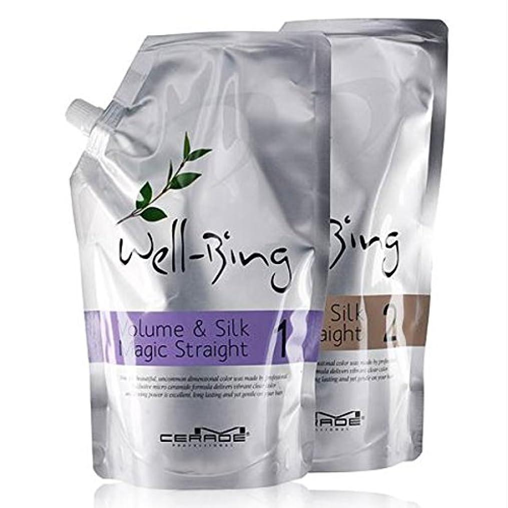 大いにナイトスポット幻滅する【韓国コスメ】[Somang/希望]Somang Mcerade Wellbeing Volume and Silk Magic Straight (700ml+700ml)/希望エムセロッドウェルネスボリュームアンドシルクマジックストレート(海外直送品)