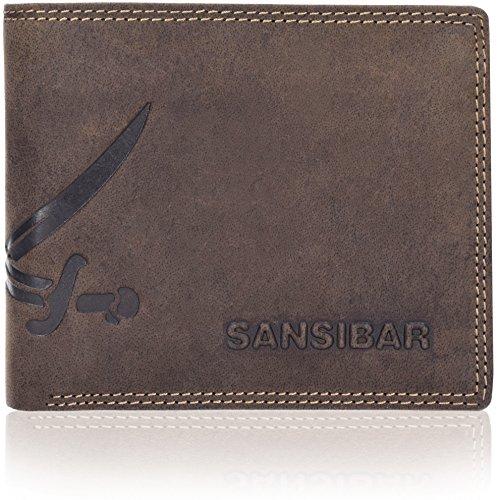 Sansibar List Geldbörse Leder 12 cm