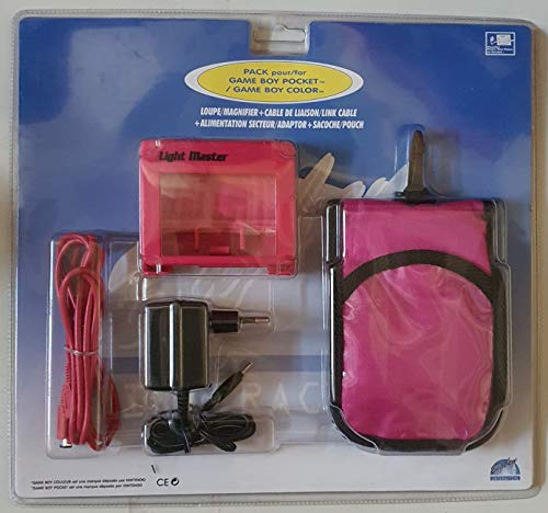 Game Boy - Netzteil+Licht&Lupe+Tasche+Linkkabel