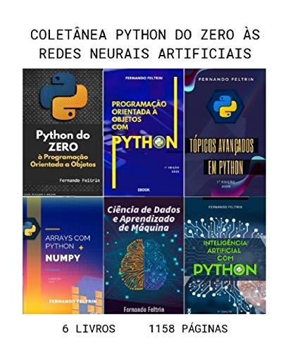 6 em 1 - Coleção Python do ZERO às Redes Neurais Artificiais