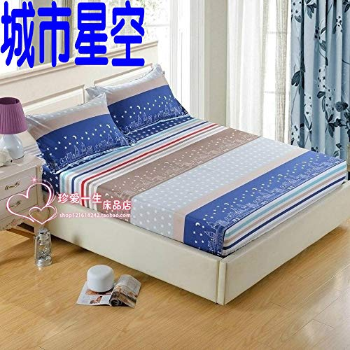 huyiming Gebruikt voor Single piece 1.3 bed cover 5 cartoon bed cover 2 m 2.2M1.8 kind baby matras cover bed cover