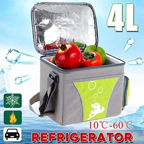 TJCB Auto Kühlschrank Mini Compact Kühlschrank Incubator Mute Fluorid-Free Kühlschrank Umweltschutz Software Schnell Frisch Halten Kühlschrank 12V Lasting