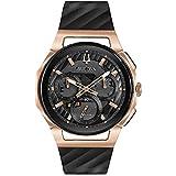 Bulova uomo Curv Collection dorato rosa cronografo