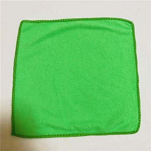 GEVJ Microvezel handdoek wassen reinigingsdoek Keuken Handdoeken Auto Detailing Doeken wassen Handdoek Scouring Pad 25Cmx25Cm 5 Stks