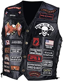 motorcycle vest design