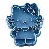 Cuticuter Hello Kitty Entera di Biscotti, Blu, 8x 7x 1.5cm