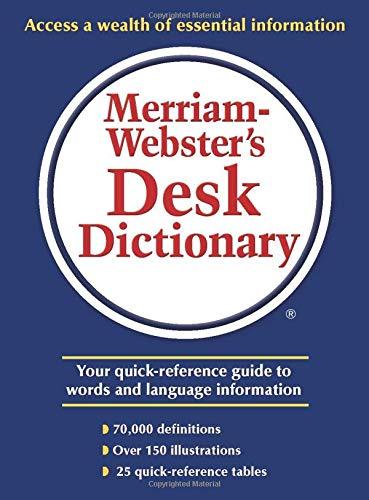 Download Merriam-Webster's Desk Dictionary 0877795495