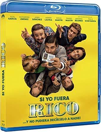 If I Were Rich Man (2019) ( Si yo fuera rico ) (Blu-Ray)
