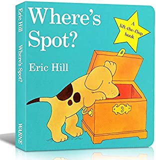 Education & Teaching - Picture Manga Book English Where's Spot In English Learning Memorie Games For Children Reading Draw...