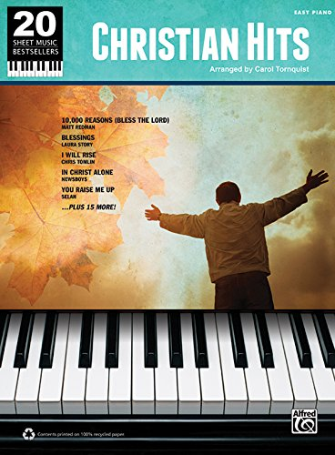Download Christian Hits: Easy Piano (20 Sheet Music Bestsellers) 073909128X