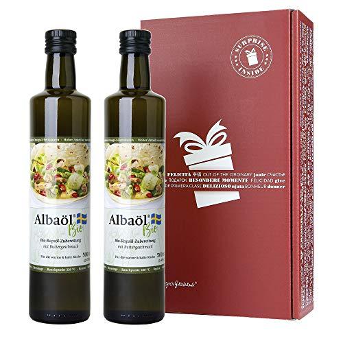 2er Pack Alba - Albaöl Bio Rapsöl...