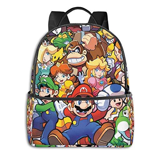 The Legend of Zelda Superhero Super Mario Smash Bros Anime Fashion Cute Boy Girl Mochila escolar