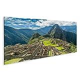 islandburner, Bild auf Leinwand Machu Picchu Ruinen in Peru