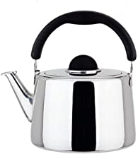 MSWL Thickened 304 Stainless Steel Tea Coffee Pot, Thick Pot Pouring Coffee, Gas, Electric, Induction Stove Fast Heating T...