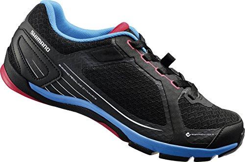 Shimano SH-CW41 - Zapatillas de ciclismo unisex, Negro (Black), 37