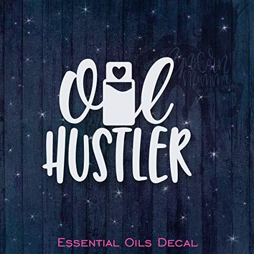 CELYCASY Oil Hustler – ätherische Öle Vinyl-Auto-Aufkleber – Autofenster – Laptop, Handy, Notebook, Tablet, Telefon, Tumbler