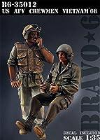 Bravo6 B6-35012 1/35 米 AFVクルー(1) ベトナム'68(2体セット)