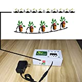 Automatic Watering System Indoor Plant Auto Watering - by Digital Timer Irrigation Controller Watering for Garden Flower Plant