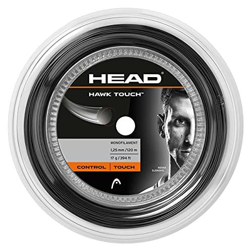 Head Hawk Touch Rollo Cordajes de Raquetas de Tenis, Adultos Unisex, Antracite, 17