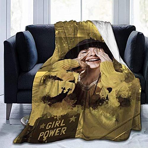 HUA JIE Entspannungsdecke Fi-Nn Wo-Lfh-AR-D Decke Ultraweiche Micro-Fleece-Decke Leichte Warme Bettdecke Für Bett Sofa Stuhl