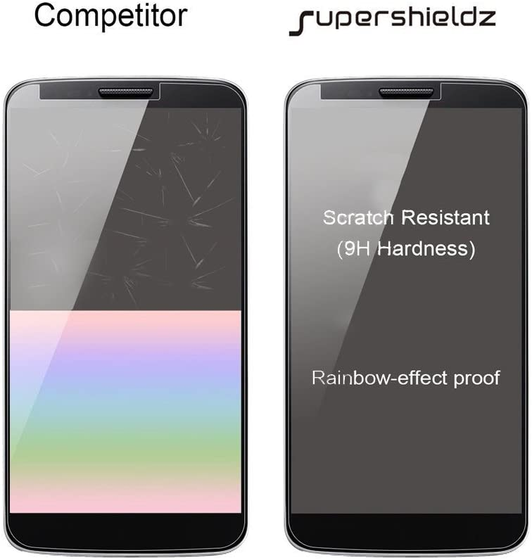 (3 Pack) Supershieldz Designed for Kyocera (DuraForce Pro 2) Tempered Glass Screen Protector, Anti Scratch, Bubble Free