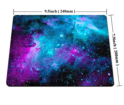Smooffly Mouse Pad pad-001 Galaxy Customized Rectangle Non-Slip Rubber Mousepad Gaming Mouse Pad Photo #2
