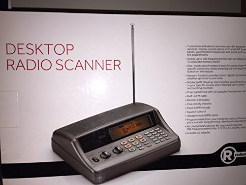 Radio Shack PRO-650 Desktop Radio Scanner