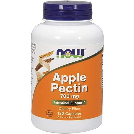 NOW Supplements, Apple Pectin 700 mg, Dietary Fiber, Intestinal Support*, 120 Veg Capsules