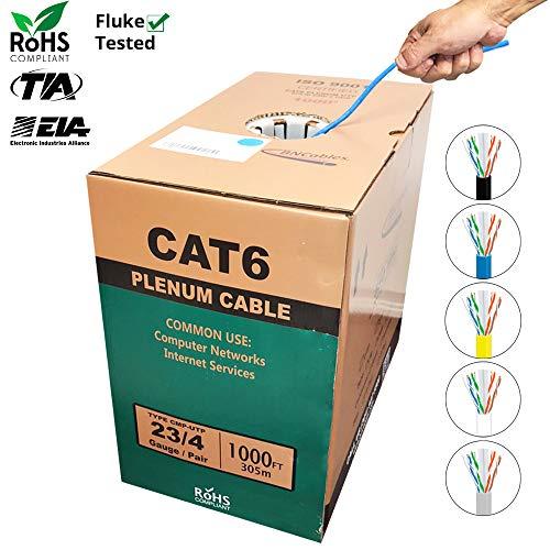 1000 ft cat6 cable plenum - 3
