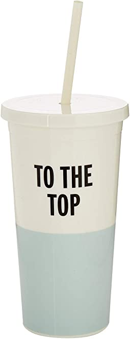 To the Top Tumbler with Straw