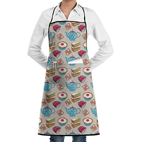 Mark Stars Finale Cath Kidston Modello Cucina Baking Garden Chef Grembiule Barbecue Ristorante Cucina BBQ