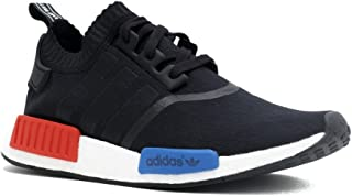 white blue and red nmd