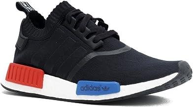 adidas nmd mens black red blue