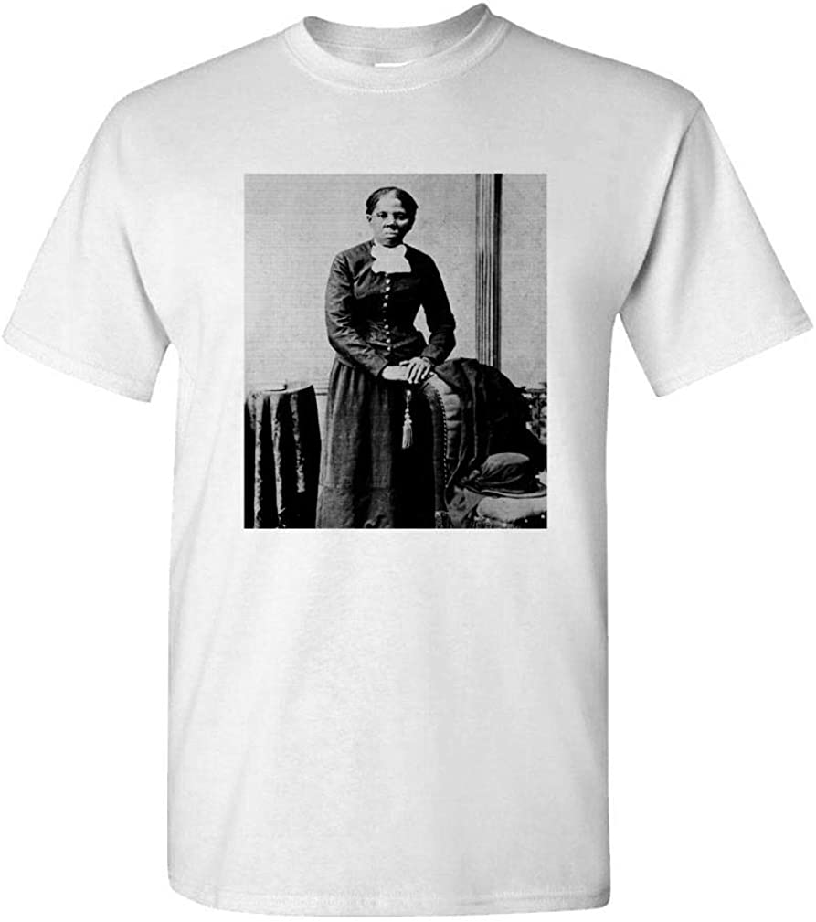 Hood Ornaments Harriet Tubman - Civil Rights Slavery war - Mens Cotton T-Shirt