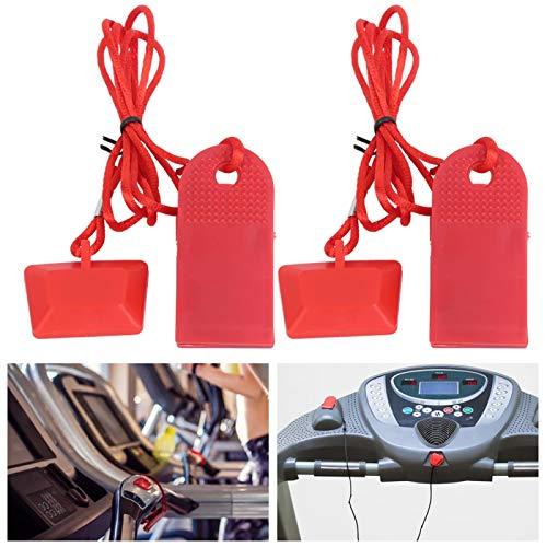 Veiligheidsclip loopband, veiligheidsschakelaar loopband, fitnessaccessoires, magneet, huishouden voor sportuitrusting…