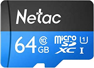 Loijon 64 GB TF Cartão Micro SD Cartão de Grande Capacidade UHS-1 Class10 Câmera de Cartão de Memória de Alta Velocidade C...