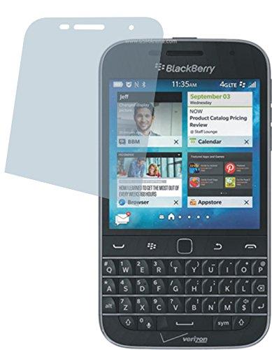4ProTec I BlackBerry Classic Non Camera (2 Stück) Premium Bildschirmschutzfolie Displayschutzfolie ANTIREFLEX Schutzhülle Bildschirmschutz Bildschirmfolie Folie