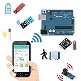 OSOYOO Arduino IoT スターター キット 物体に通信機能を持たせ 自動認識 制御 遠隔計測 モノのインターネット 開発電子部品キット (Arduino IoT Kit)