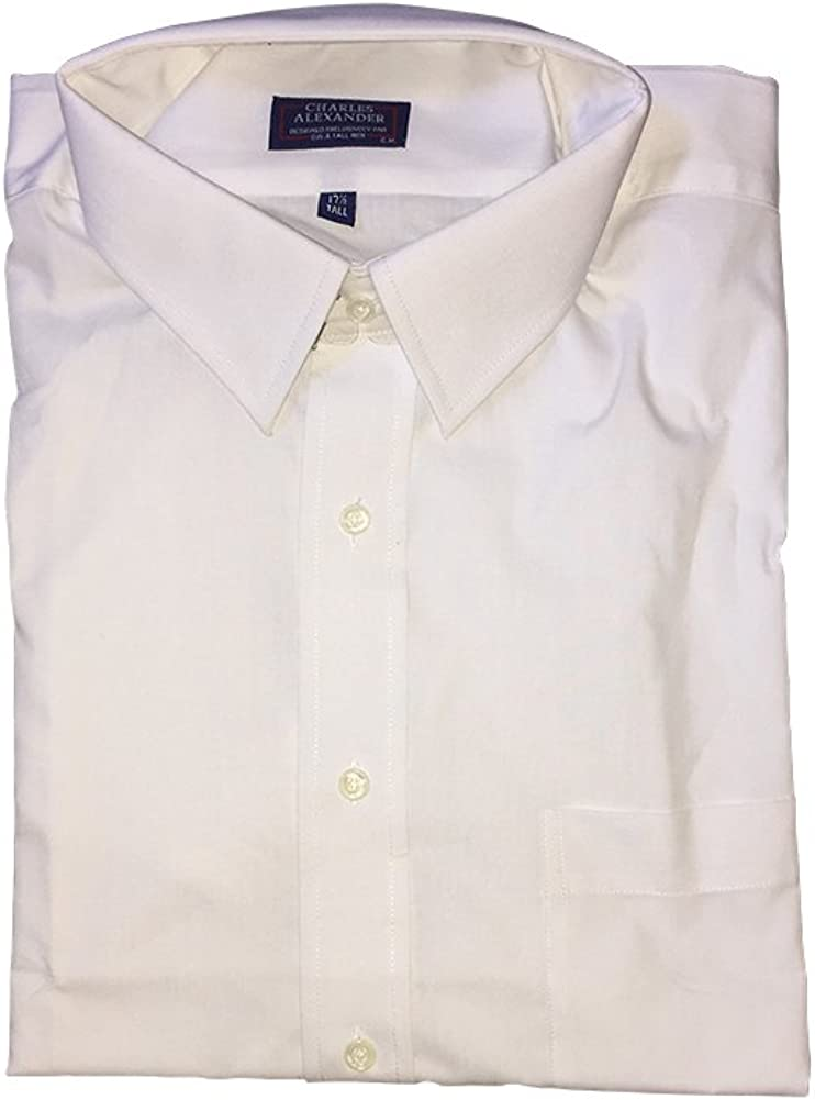 Charles Alexander Big and Tall Full Cut Corporate Dress Shirts 18