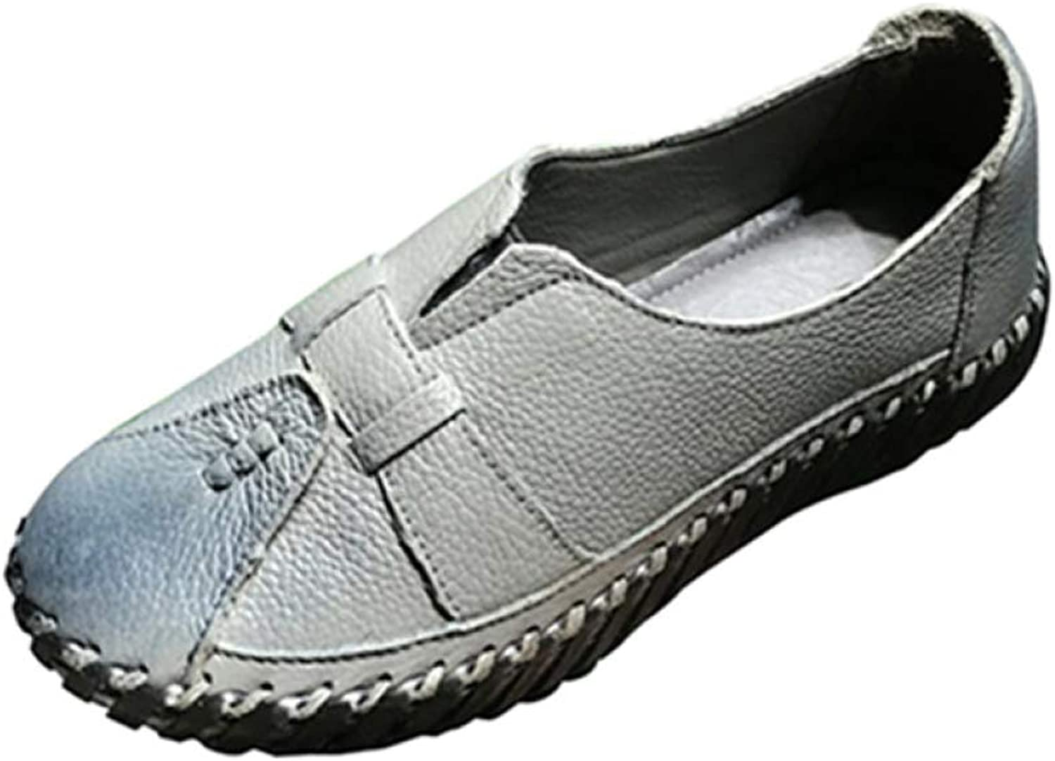 Fay Waters Women's Comfort Flat Moccasins Round Toe Slip On Casual Walking Driving Loafer shoes