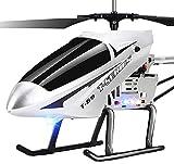 Liiokiy RC Plane Super RC Helicopter Grande 2.4GHz Control Remoto Vacío Regalos para Adolescentes Boys Girls 3.5 Canal Infrarrojo Inducción Helicóptero Juguete Regalos de Cumpleaños de Navidad