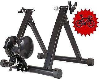Support De V/élo Stationnaire Stable Et Robuste pour V/élo KFMJF Support De V/élo Magn/étique Bike Turbo Trainer avec Blocage De Roue /À D/égagement Rapide