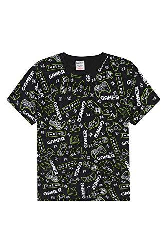 Camiseta de algodón con diseño de jugador para niños