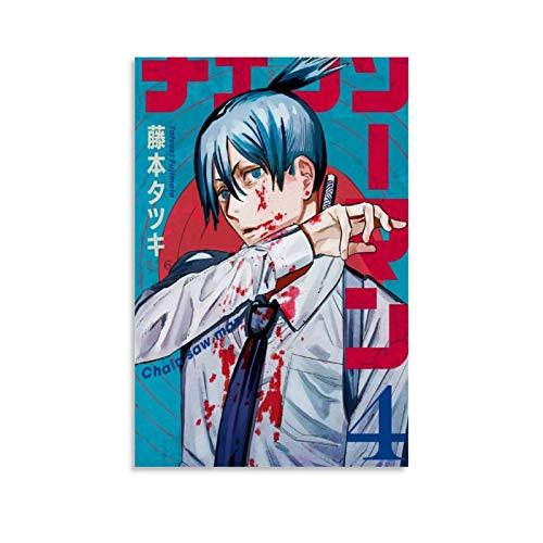 Póster de anime de Hayakawa Aki de Chainsaw Man 04, póster