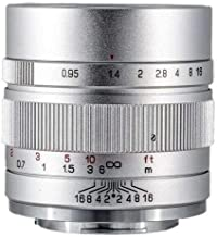 Zhongyi Mitakon APS-C Camera Prime Lens 35mm f/0.95 Mark II Sony E Silver