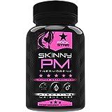 Skinny PM Weight Loss Pills for Women, Diet Pills by Rockstar, Thermogenic Fat Burner, 60 Veggie Caps
