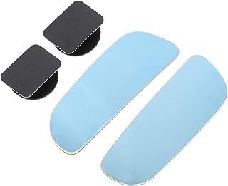 VICASKY Espelho de ponto-cego para carros, sem moldura, espelho, retrovisor, convexo, pau em espelhos ajustáveis, acessóri...