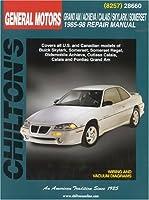 GM Grand Am/Achieva/Calais/Skylark/Somerset 1985-98 (Chilton's Total Car Care Repair Manual) 0801991064 Book Cover